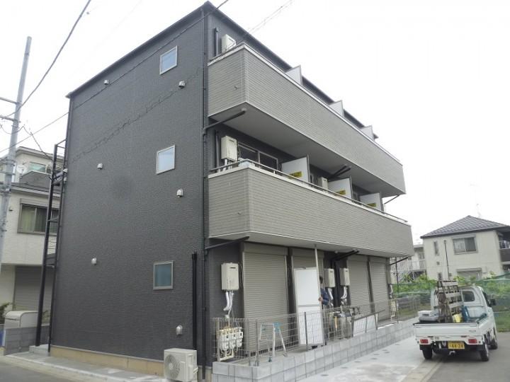 稲田堤新築アパート