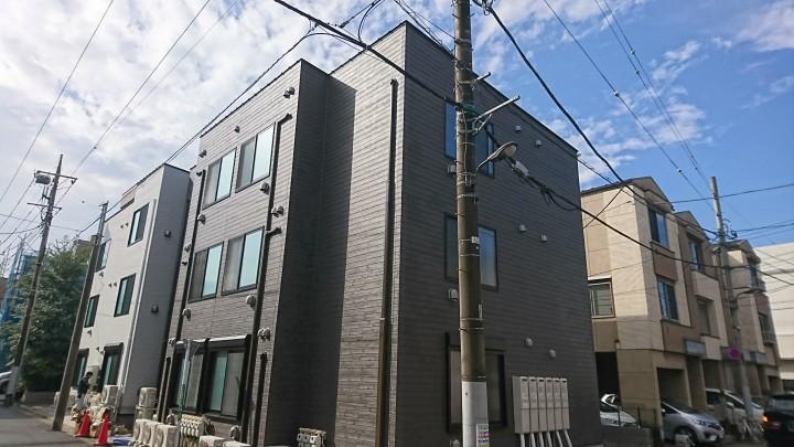 足立区新築木造アパート